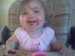 Darling Daughter LOVES brownies!